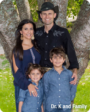 Dr. K and Family Embrace Orthodontics