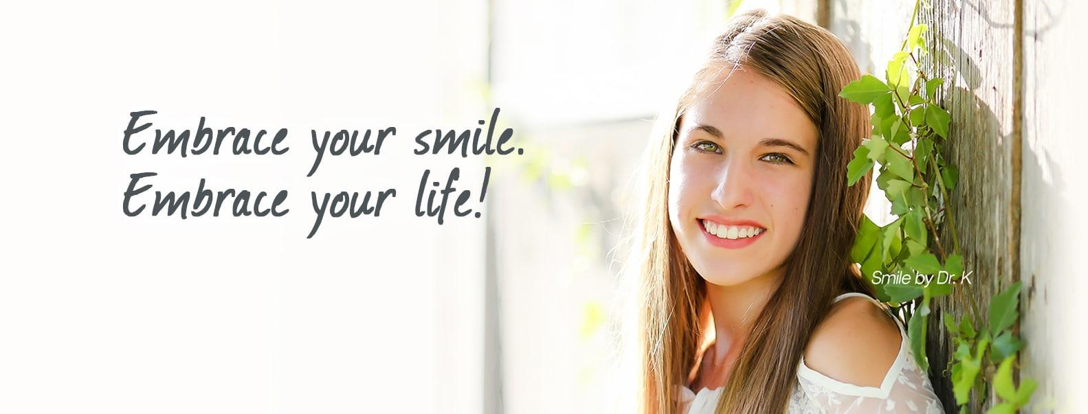 Smile at Embrace Orthodontics Cibolo TX