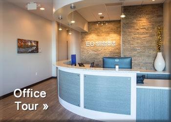 Office Tour Button Embrace Orthodontics in Cibolo, TX