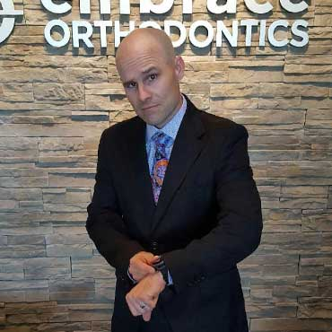 Chuck at Embrace Orthodontics in Cibolo TX